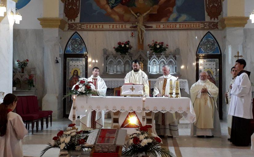 Oituz: vizita Relicvei insemnate a Fericitului Ieremia
