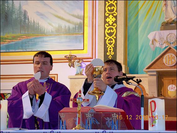 Ciugheş: Vizita relicvei însemnate a fericitului Ieremia