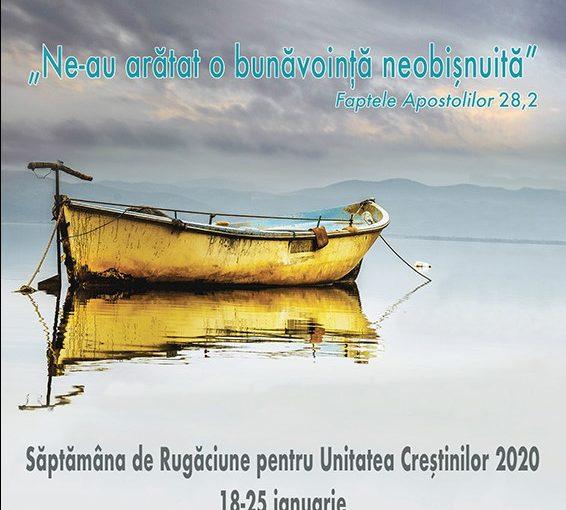 Săptămâna de Rugăciune pentru Unitatea Creştinilor la Onești (18-25 ianuarie 2020)