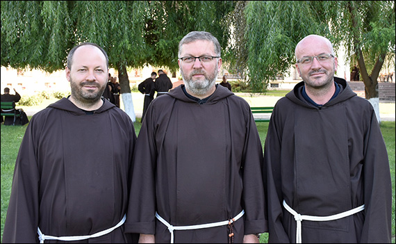 Oneşti: Un nou consiliu în cadrul Ordinului Fraţilor Minori Capucini din România