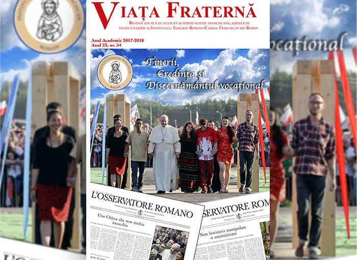 Revista Viața Fraternă 2017-2018