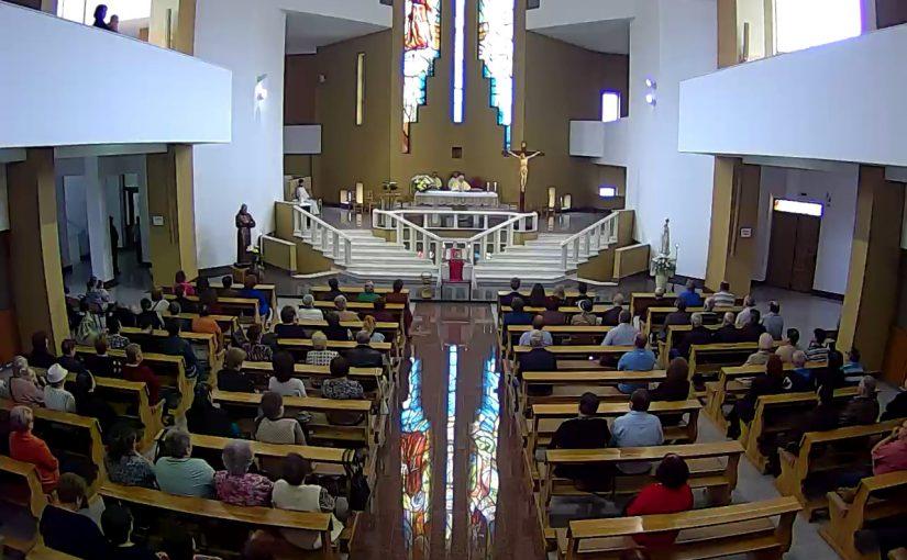 Onești: Fericitul Ieremia și-a încheiat pelerinajul jubiliar prin parohiile Diecezei de Iași (27 mai 2018)