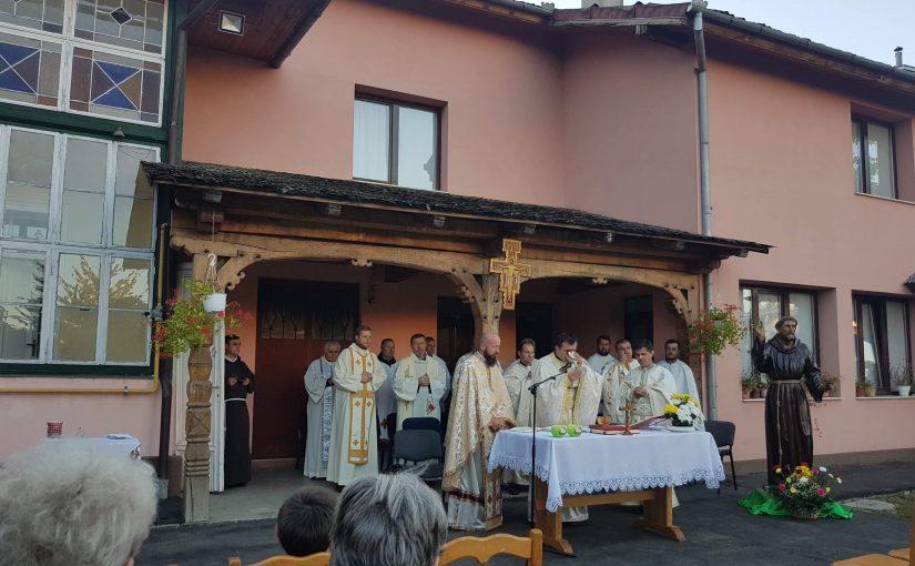 """Hramul Oratoriului """"Sfântul Francisc"""" din Sighetu Marmaţiei"""