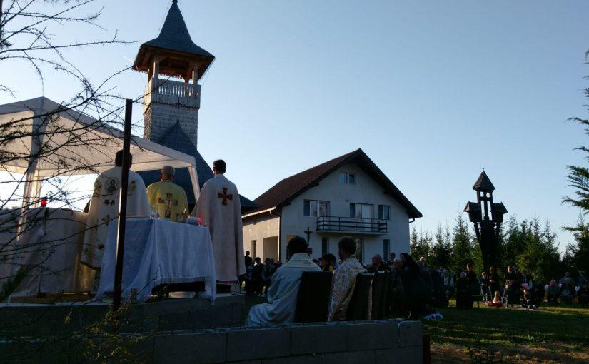 """Hramul conventului """"Sfinții Îngeri păzitori"""" din Târgu Lăpuș"""